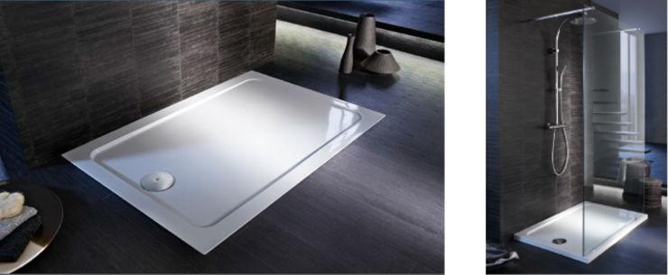 Platos de ducha flight safe con revestimiento antideslizante for Revestimiento ducha